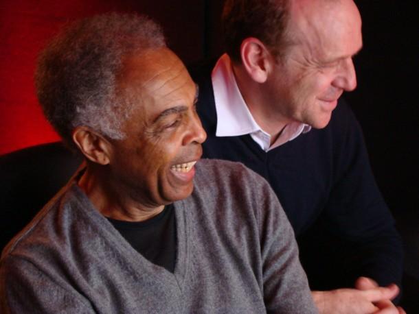 Gilberto Gil and Emmanuel Gétaz 20 avril 13