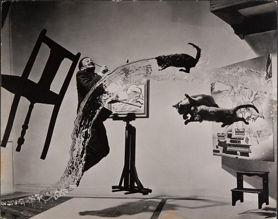 CR_MEL_HALSMAN_Dali Atomicus 1948 (c) 2013 Philippe Halsman Archive Magnum Photos_Images Rights of Salvador Dali reserved