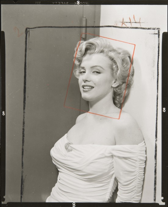 HALSMAN_Philippe_ Tirage contact Marilyn Monroe 1952 (c) 2013 Philippe Halsman Archive Magnum Photos