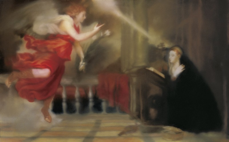 Annunciation after Titian / Verkündigung nach Tizian