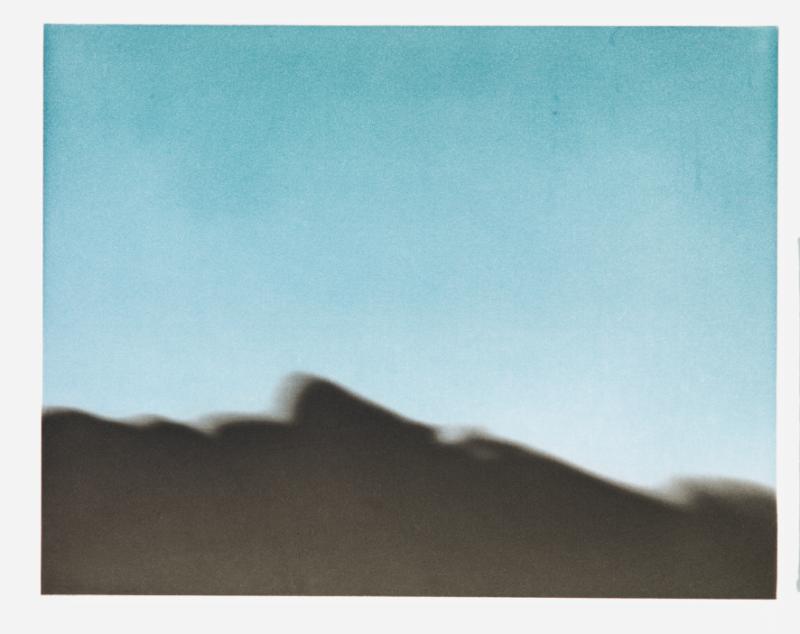 Silhouette – Raetz_At the Promontory of Noses, 2001, Héliogravure au grain, 228 × 294 mm