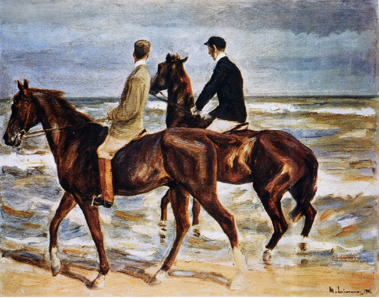 Max Liebermann_Riders.