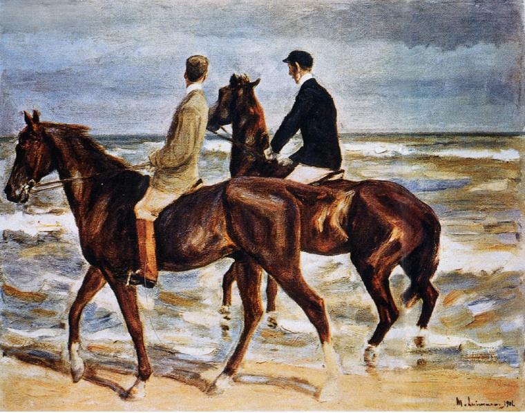 Max Liebermann_Riders.