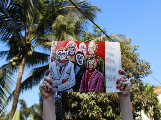 Thanks to Art Basel's crowdfunding initiative, the Myanmar Art Resource Center and Archive will translate the Myanmar contemporary art book into English and add chapters on censored Burmese art  (kickstarter.com)