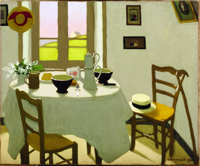 Marius Borgeaud, La chambre blanche, 1924, Collection privée © photo Jacques D. Rouiller