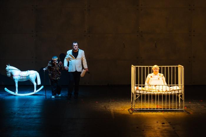'Vangelo' Bobò et Delbono avec Mario Intruglio au Théâtre de Vidy.