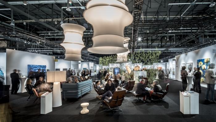 artgenève 2015 lounge area