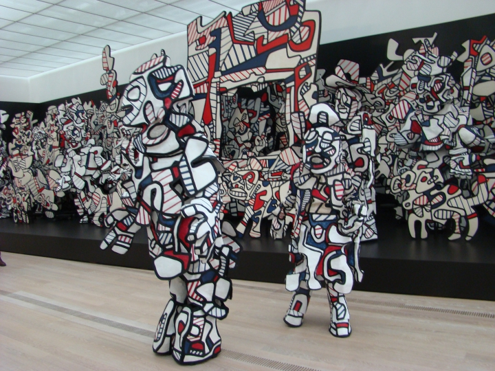 Jean Dubuffet Coucou Bazar, 1972-1973 Installation view, Collection Fondation Dubuffet, Paris © Michele Laird