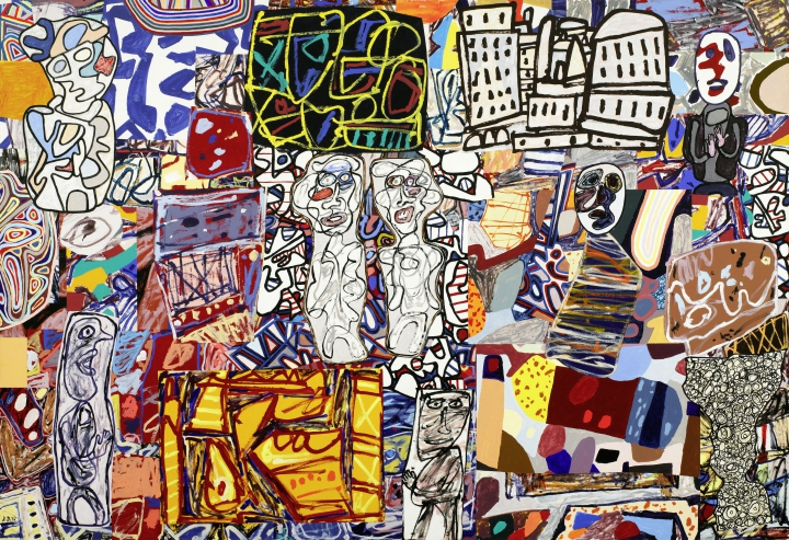 Jean DubuffetMêle moments, 1976Private Collection, Courtesy Pace Gallery© 2015, ProLitteris, Zurich, Photo: courtesy Pace Gallery
