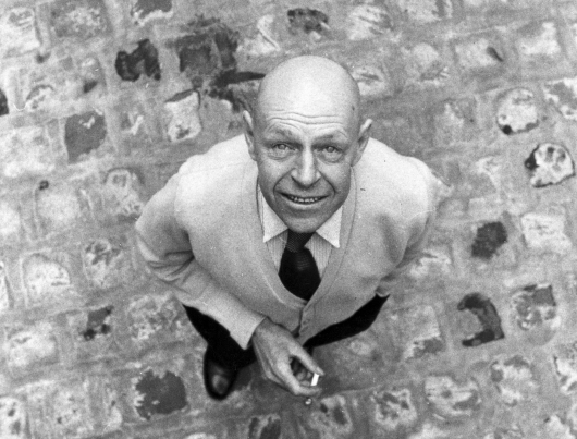 Jean Dubuffet, 1959 © Photograph: John Craven / Archives Fondation Dubuffet, Paris