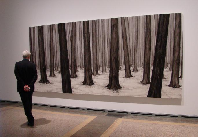 Ni Youyu, Forest II, 2014, 2013, Sigg Collection © Ni Youyu