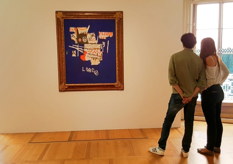 Jean-Michel Basquiat, Lobo, undated at Fondation de l'Hermitage