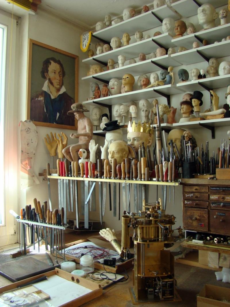 Atelier François Junod à Sainte-Croix