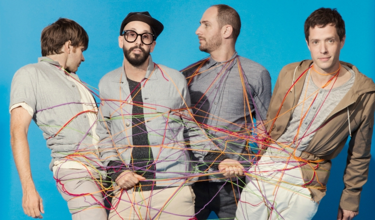 OK Go, The writing's on the wall, cult videos by the American indie group, photo Gus Powell